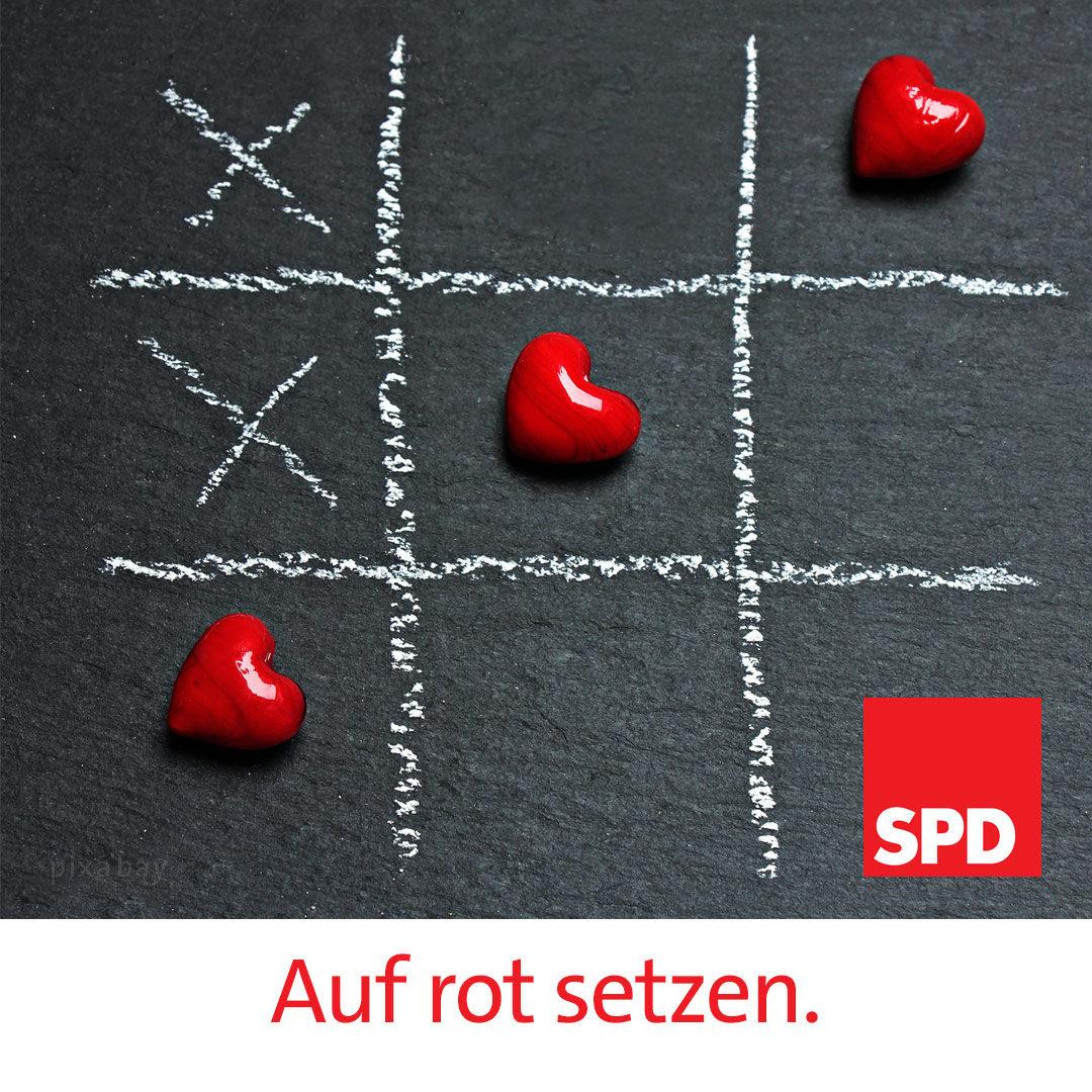 SPD, Mitglied werden, Sozialdemokrat, sozialdemokratische Partei, rot, Herz