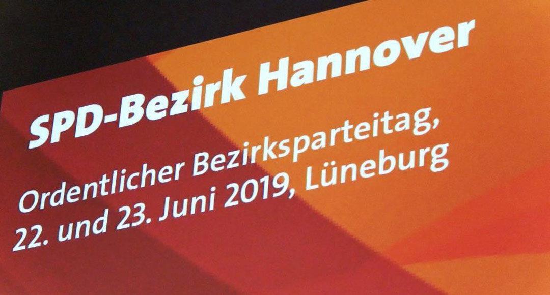 Bezirksparteitag, SPD, Lüneburg, Bezirk Hannover