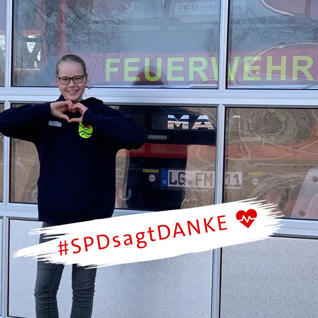 #SPDsagtDanke an die Alltagshelden in der Coronakrise - Feuerwehr