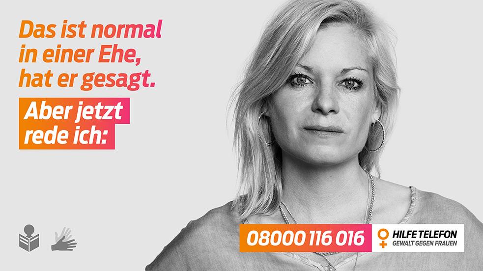 Hilfetelefon Gewalt gegen Frauen