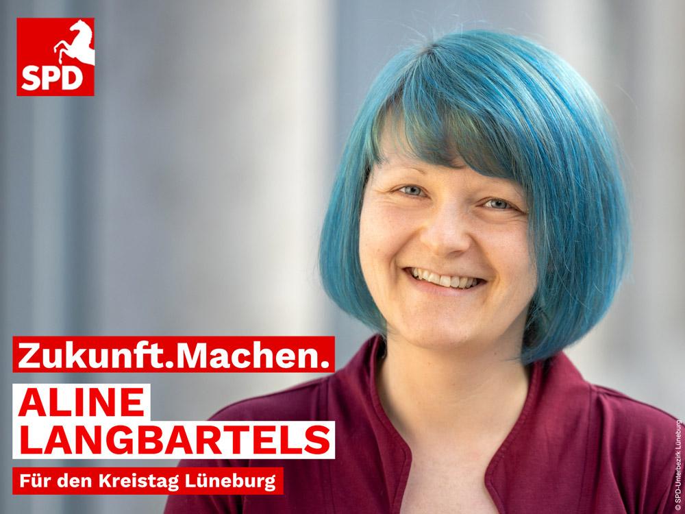 Aline Langbartels aus Mechtersen Kandidatin für Kreistag Lüneburg