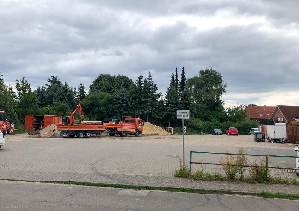 Freifläche Große Straße in Bardowick