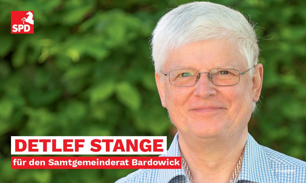 Detlef Stange SPD-Kandidat für Samtgemeinderat Bardowick 2021