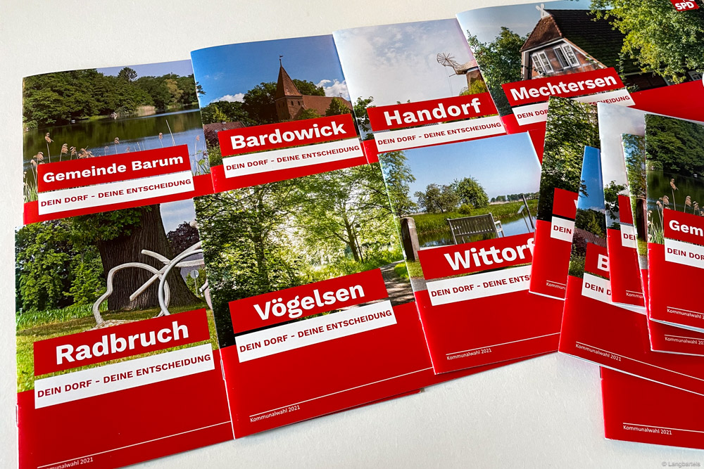 Alle Wahlbroschüre der SPD Samtgemeinde Bardowick
